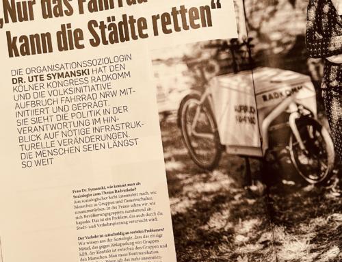 Nur das Fahrrad wird unsere Städte retten: Interview in der BikeBild