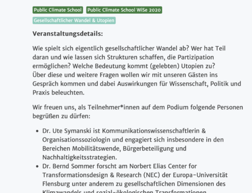#PublicClimateSchool 25.11.2020 – Freiheit zur Transformation