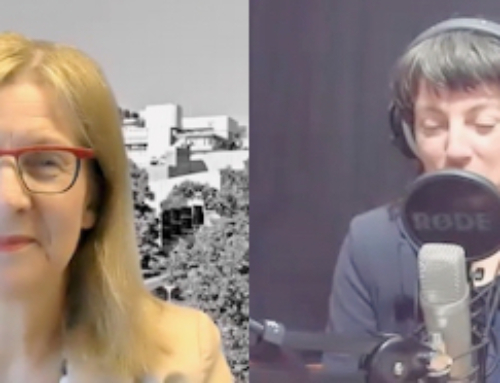 Podcast #SciencemanagersForFuture meets Uni-Rektorin Katharina Holzinger